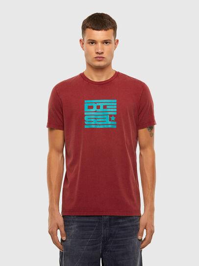 Diesel - T-DIEGOS-N31, Red - T-Shirts - Image 1
