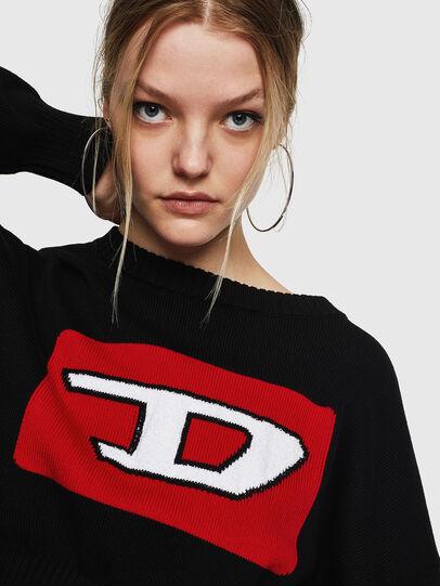 Diesel - M-LINDA, Black/Red - Knitwear - Image 3