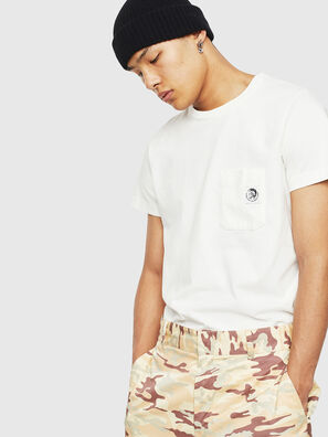 T-WORKY-MOHI-S1, White - T-Shirts