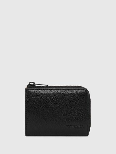 Diesel - L-PASSME, Black/Orange - Small Wallets - Image 1