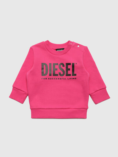 Diesel - SCREWDIVISION-LOGOB, Pink - Sweaters - Image 1