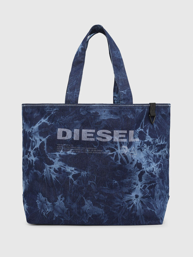 D-THISBAG SHOP M, Blue - Shopping and Shoulder Bags