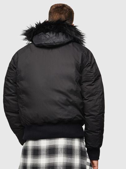 Diesel - W-BURKISK, Black - Winter Jackets - Image 2