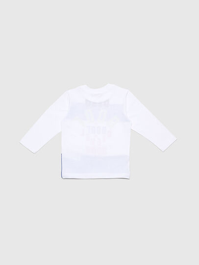 Diesel - TOLIB-R, White/Blue - T-shirts and Tops - Image 2