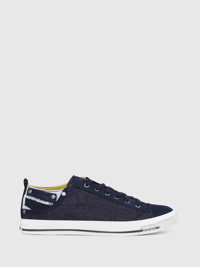 Diesel - EXPOSURE LOW I, Dark Blue - Sneakers - Image 1