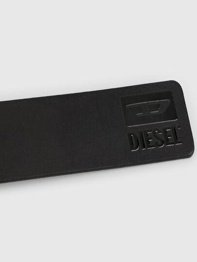 Diesel - B-DIVISION, Bright Black - Belts - Image 4