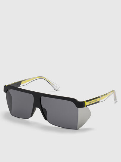 Diesel - DL0319, Black - Sunglasses - Image 2