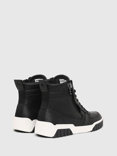 Diesel - S-RUA MID W, Black - Sneakers - Image 3