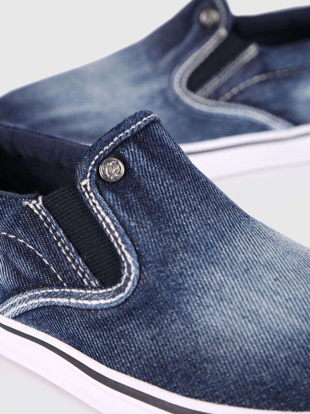 KIDS SLIP ON 21 DENIM YO, Blue Jeans - Footwear - Image 4
