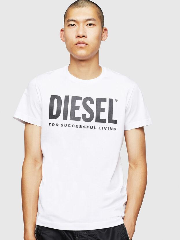 T-DIEGO-LOGO, White - T-Shirts