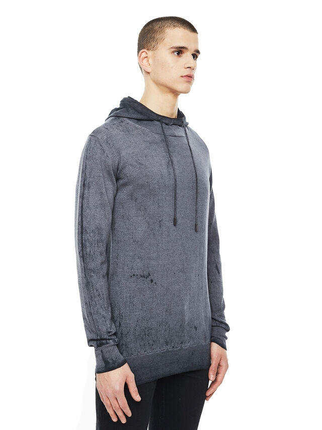 Diesel - KESULFY, Black/Grey - Knitwear - Image 5