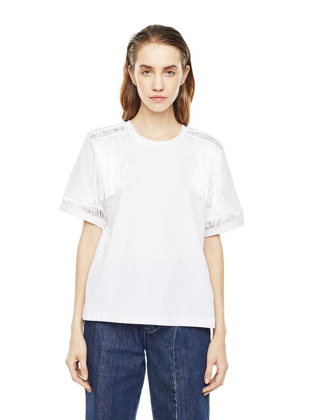 Diesel - TREENA, White - T-Shirts - Image 1