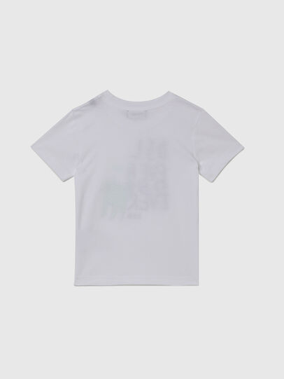 Diesel - TORTUB-R, White - T-shirts and Tops - Image 2