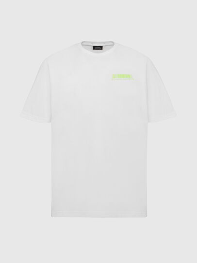 Diesel - T-JUST-SLITS-X84, White - T-Shirts - Image 1