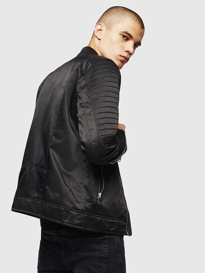 Diesel - J-SHIRO, Black - Jackets - Image 6