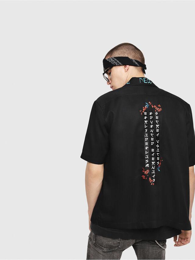 Diesel - S-KENTA-A, Black - Shirts - Image 2