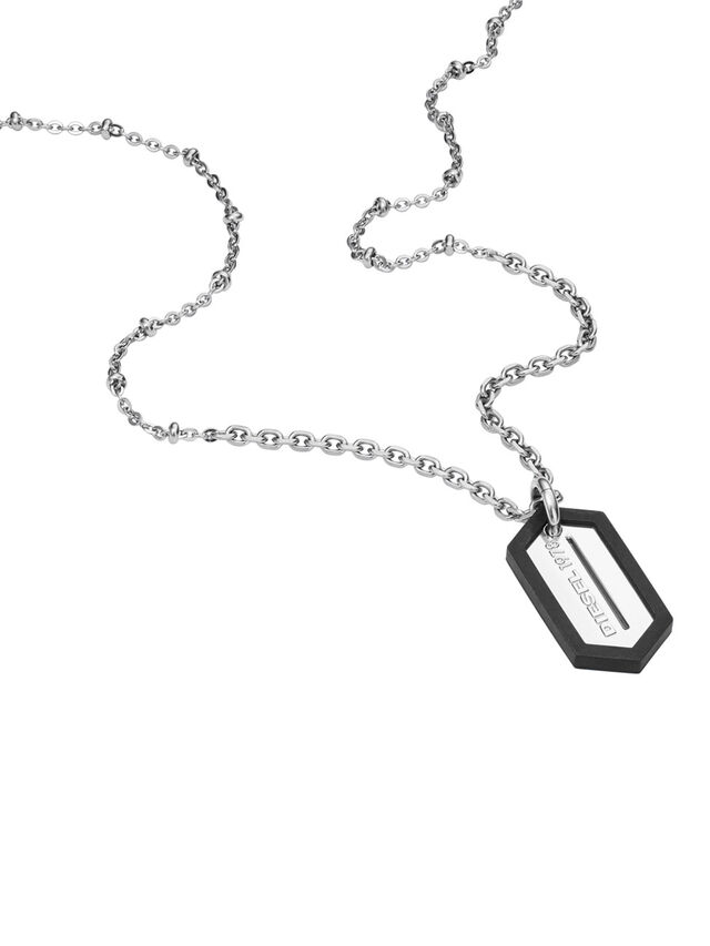NECKLACE DX0995, Silver