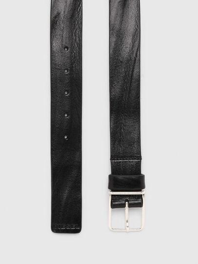 Diesel - B-SILVER, Black - Belts - Image 3