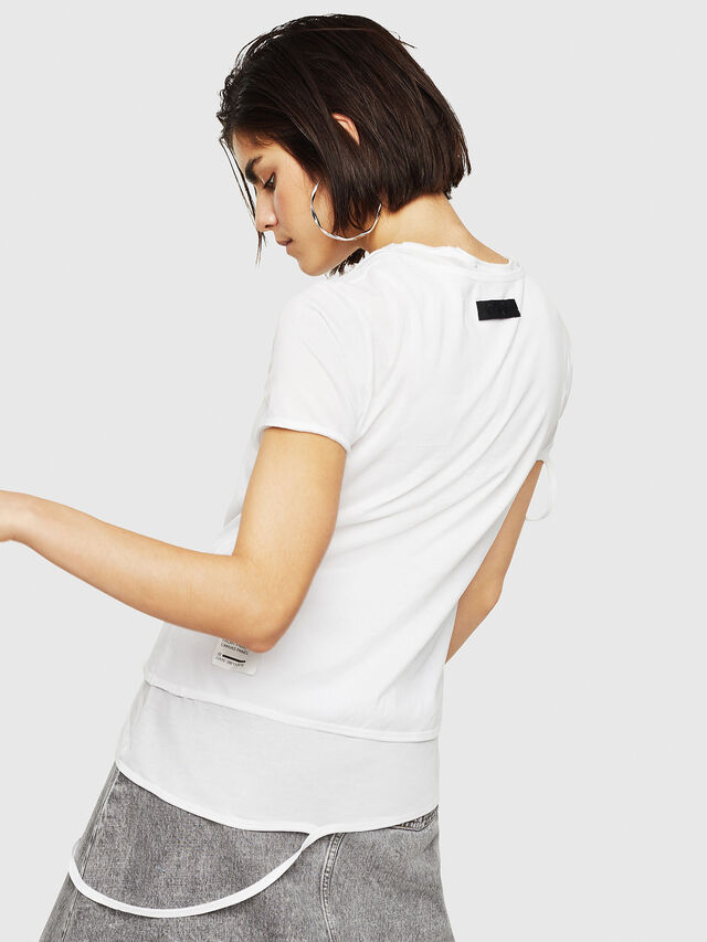 Diesel - T-EMIKO-B, White - T-Shirts - Image 2