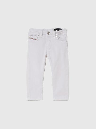 Diesel - SLEENKER-B JOGGJEANS-N, White - Jeans - Image 1