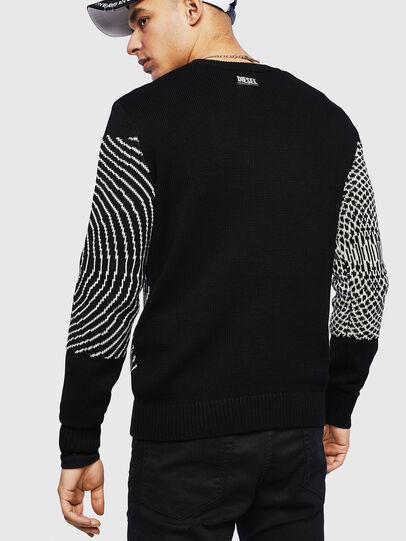 Diesel - K-OCCHY, Black - Knitwear - Image 2