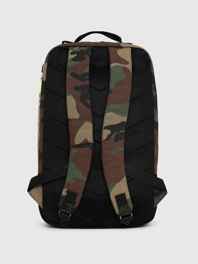 Diesel - PIEVE, Green Camouflage - Backpacks - Image 2