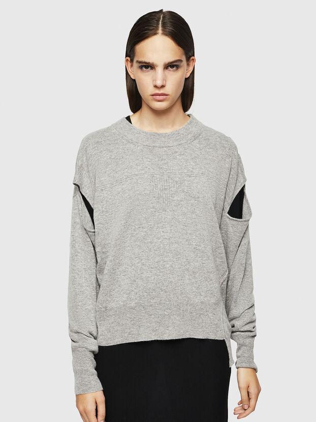 M-CRISTAL, Grey - Knitwear