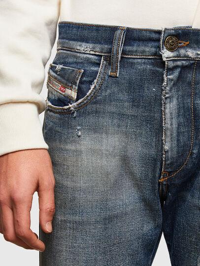 Diesel - D-Strukt 009TX, Dark Blue - Jeans - Image 4