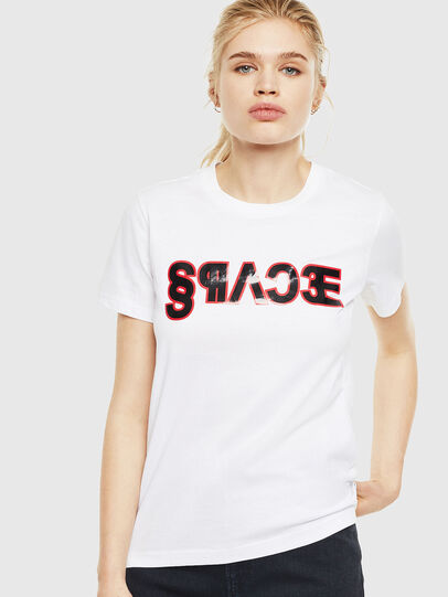 Diesel - T-SILY-WO, White - T-Shirts - Image 1