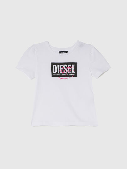 Diesel - TRIDGEB-R, White - T-shirts and Tops - Image 1