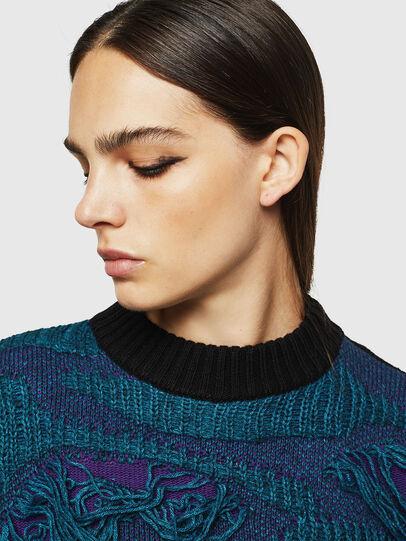 Diesel - M-KAM, Blue Marine - Knitwear - Image 6