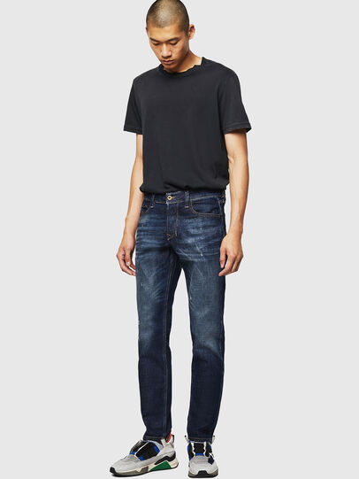 Diesel - Larkee-Beex 087AT, Dark Blue - Jeans - Image 5