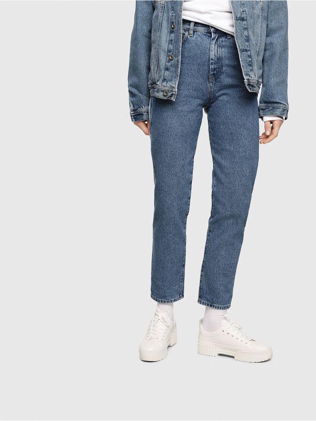 Diesel - D-Eiselle 0077V, Medium blue - Jeans - Image 1