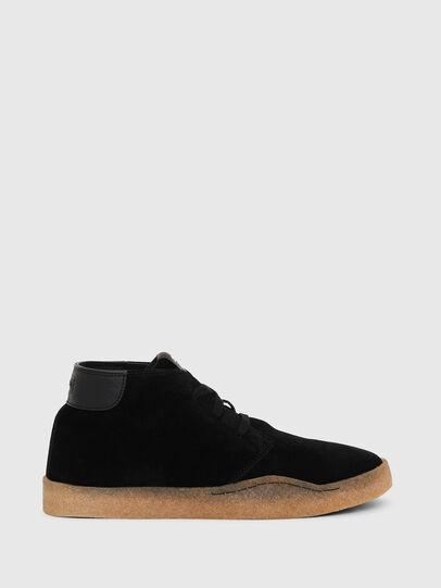 Diesel - H-CLEVER PAR DESERT, Black - Sneakers - Image 1
