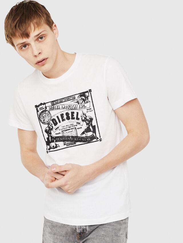 Diesel - T-DIEGO-C3, White - T-Shirts - Image 1
