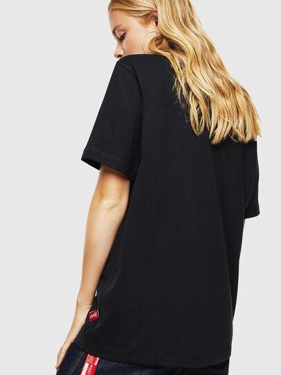 Diesel - CC-T-JUST-COLA, Black - T-Shirts - Image 4