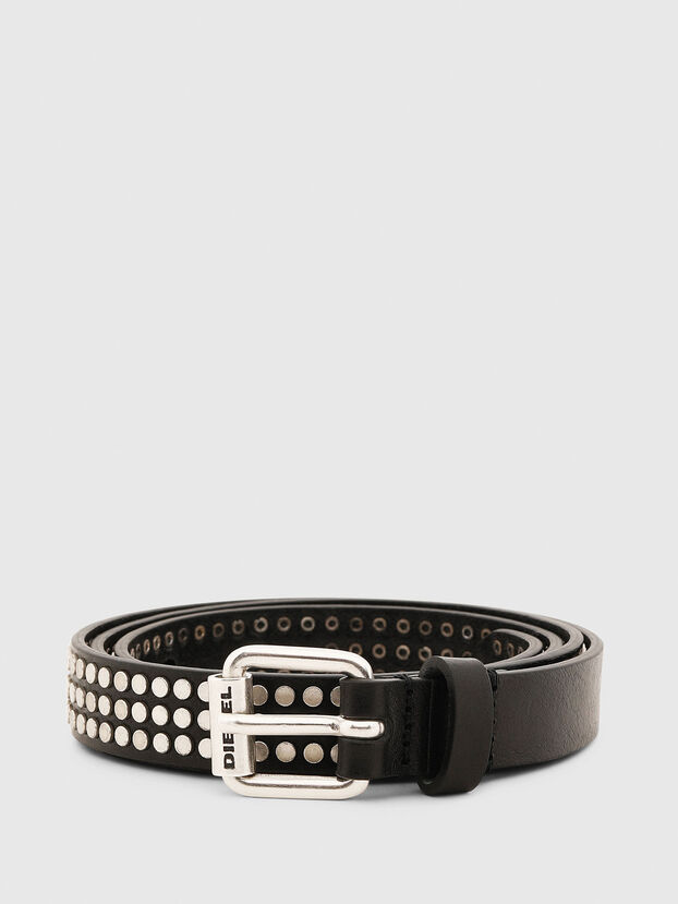 B-STUDALL, Black - Belts