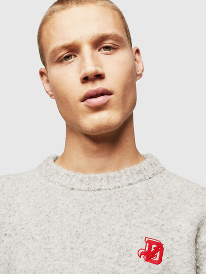 Diesel - K-CASY, Light Grey - Knitwear - Image 4
