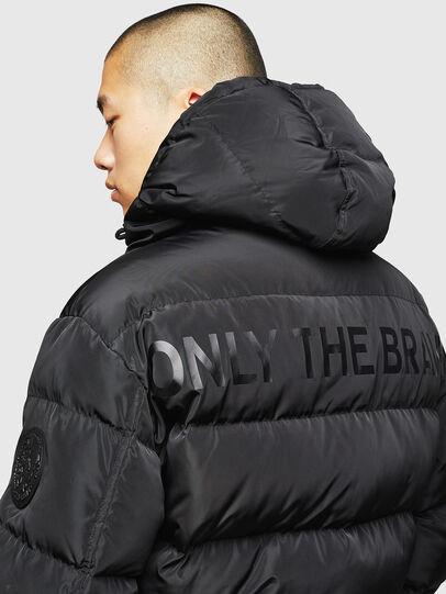Diesel - W-SMITH-YA, Black - Winter Jackets - Image 5
