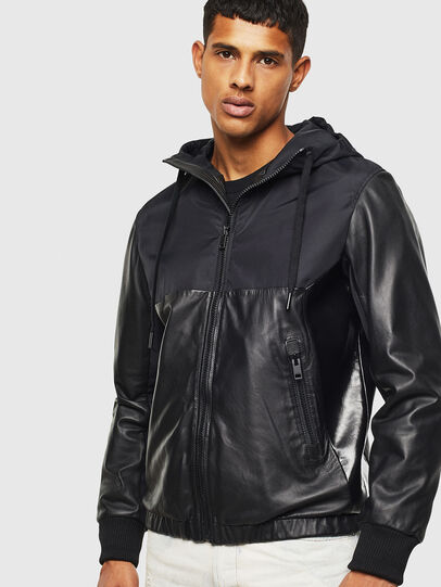 Diesel - L-CARRS,  - Leather jackets - Image 1