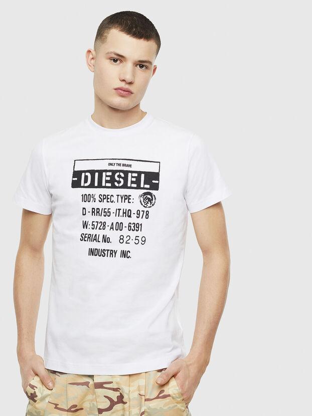 T-DIEGO-S1, White - T-Shirts