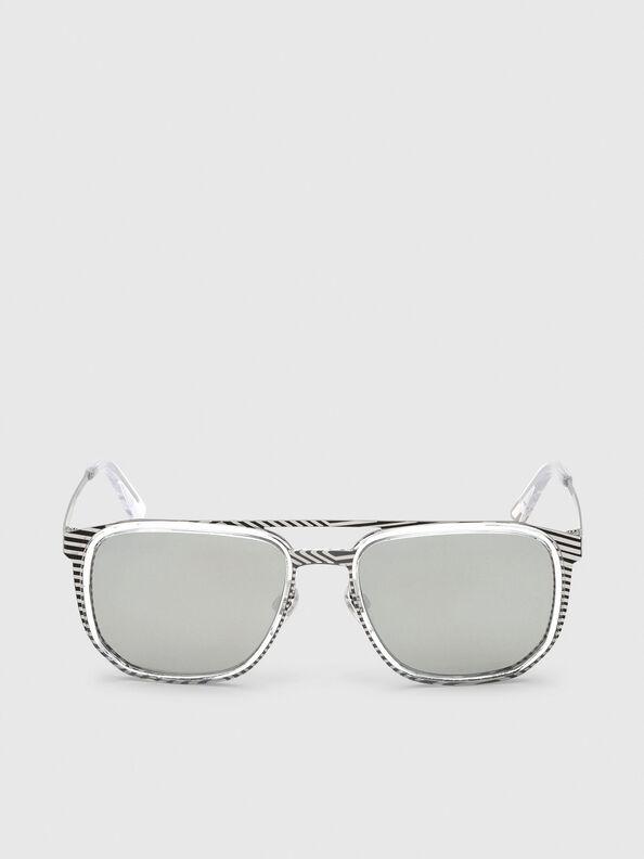 DL0294, White/Black - Sunglasses