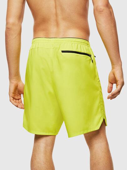 Diesel - BMBX-TUNA, Green Fluo - Swim shorts - Image 2