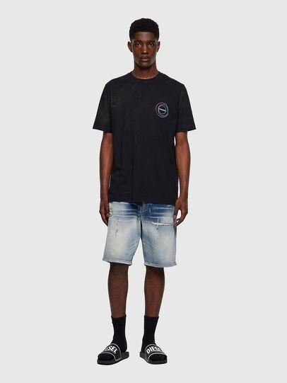 Diesel - T-JUST-E3, Black - T-Shirts - Image 4