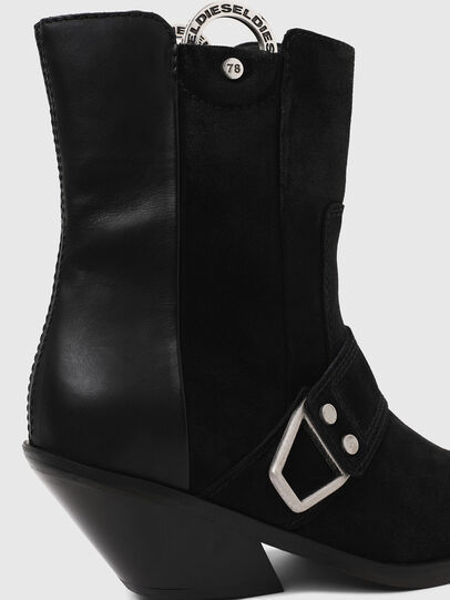 Diesel - D-GIUDECCA MAR, Black - Ankle Boots - Image 5
