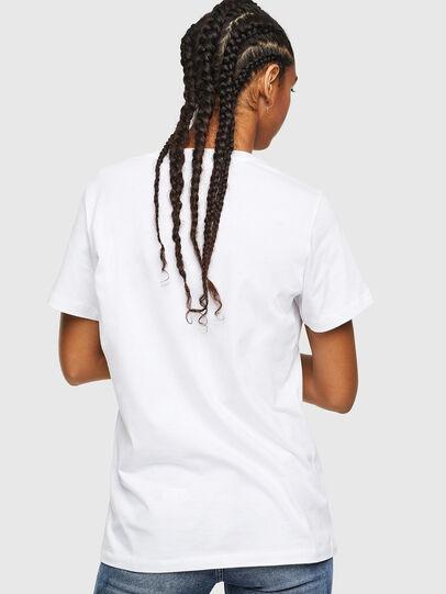 Diesel - T-DARIA-YC, White - T-Shirts - Image 2