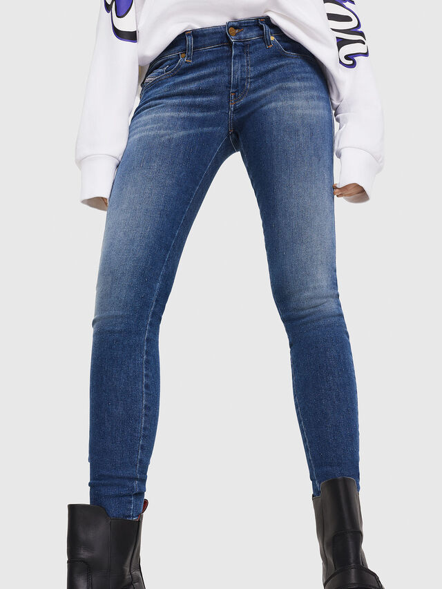 Diesel - Slandy Low 088AU, Medium blue - Jeans - Image 5