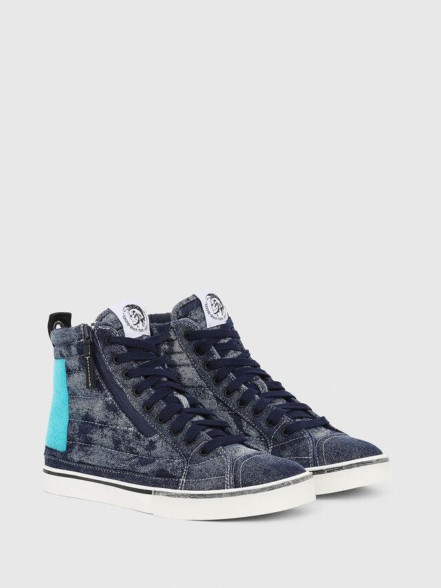 Diesel - D-VELOWS MID PATCH, Blue - Sneakers - Image 2