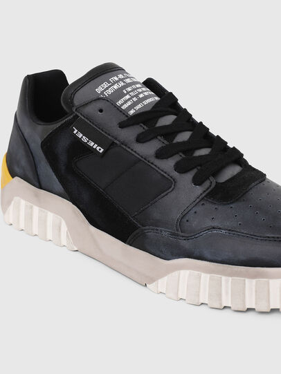 Diesel - S-RUA LOW90, Blue/Black - Sneakers - Image 4