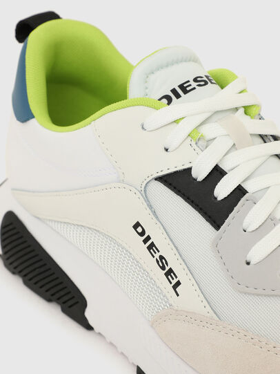 Diesel - S-TYCHE LOW CUT, White/Blue - Sneakers - Image 4